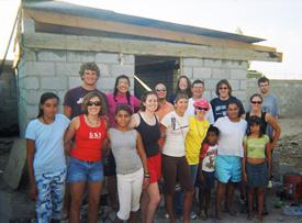 Image from a Proyecto Abrigo trip to Mexico